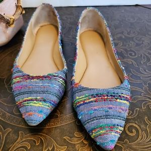 Audrey Brooke Haley Multi-colored Flats 6.5